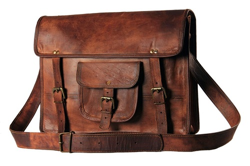 Best leather messenger bag for men and women reviews